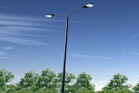 Уличные светодиодное освещение на солнечных батареях для дачи